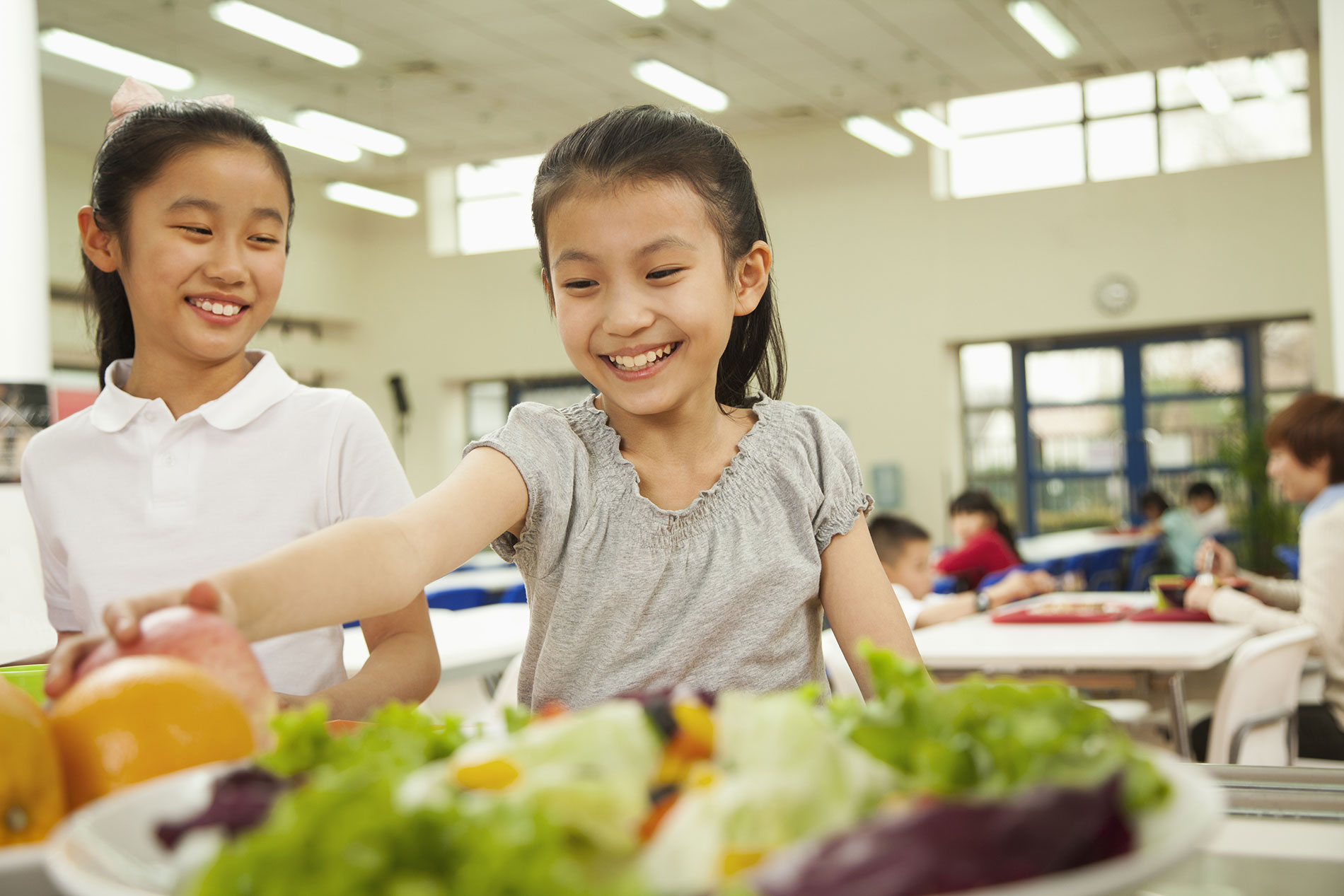 How the Cafeteria Became Cool: Celebrate National School Lunch Week