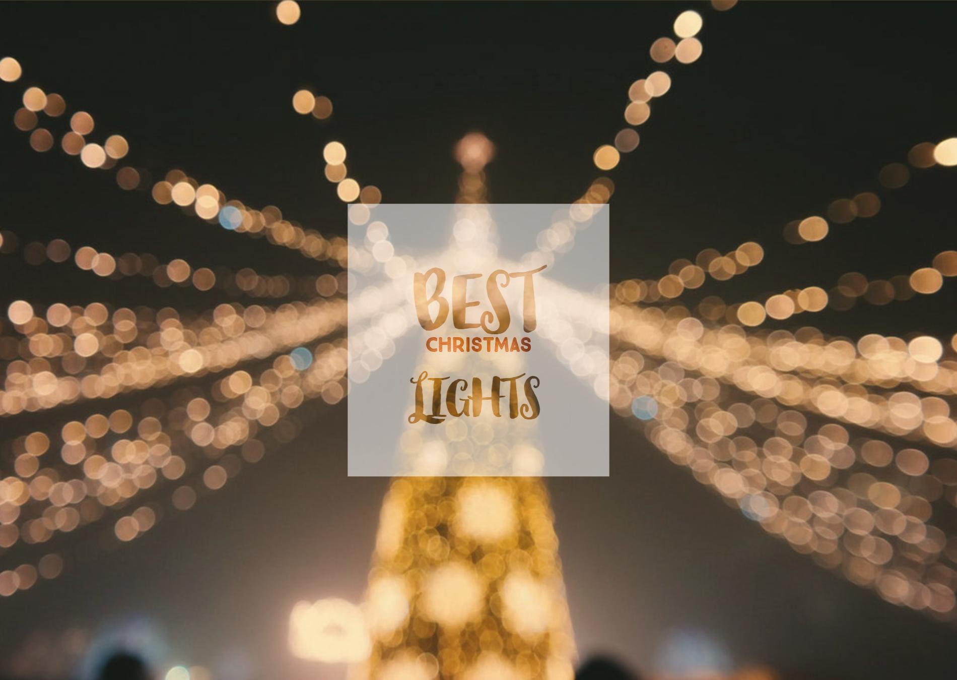 the origin of outdoor christmas lights
